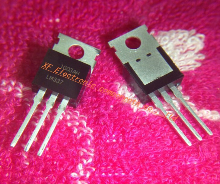 10PCS LM337 LM337T IC REG LDO NEG ADJ 1.5A TO-220 NEW