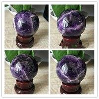 BEST!! NATURAL Dream Amethyst Crystal Sphere Ball Orb Gem Stone