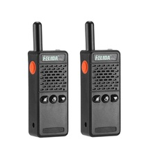2 pces handheld T M2 crianças rádio em dois sentidos 128 canais m2 pmr mini talkie walkie super minúsculo frs/gmrs walki talki