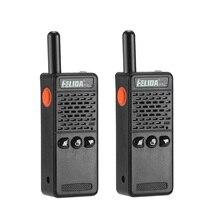 2 stücke Handheld T M2 Kinder Zwei Weg Radio 128 Kanäle M2 PMR Mini Talkie Walkie Super Tiny FRS/GMRS walki Talki