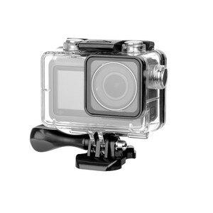 Image 3 - Voor DJI OSMO Actie Camera 60M Waterdichte Behuizing Case Action Camera Accessoires Drijvende Onderwater Beschermende Doos