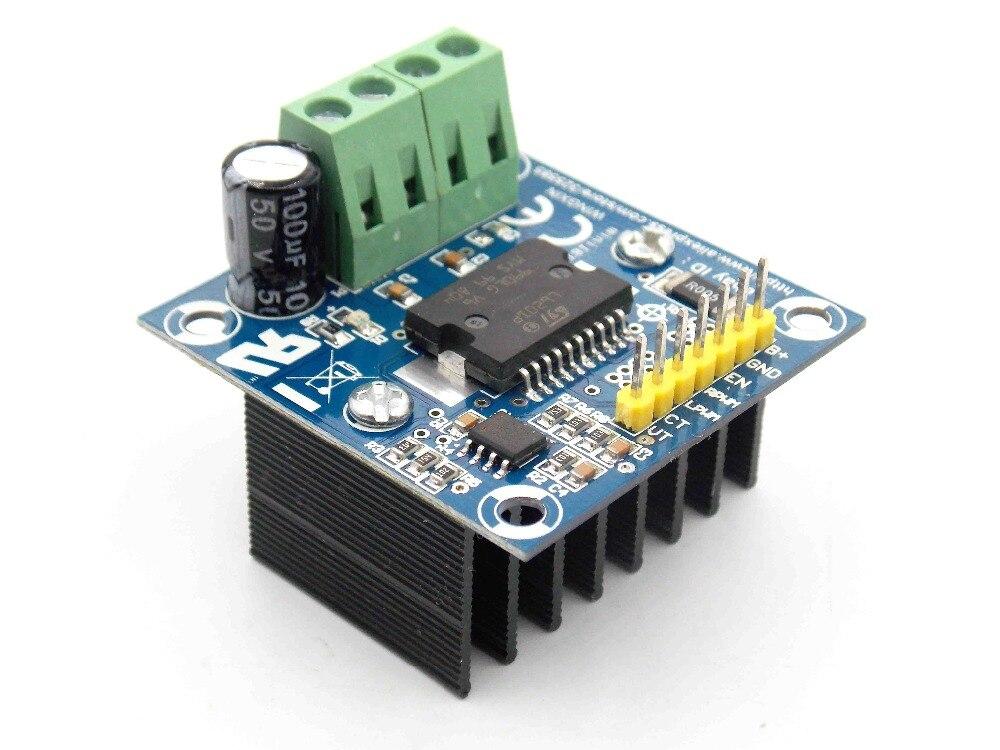 MiniIBT DC Motor Drive Module H-pont PWM (0 ~ 100%) Contrôle 12 V-48 V/5A NMOS structure