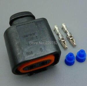 Водонепроницаемый Электрический рожковый разъем shhworld, 2 PIN, для VW, AUDI 1J0 973, 722