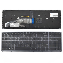 цена на NEW Keyboard for HP Zbook 15 G3 17 G3  backlit Pointer 848311-001