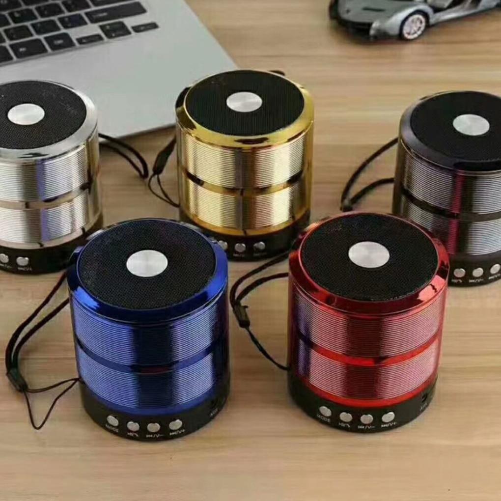 Unterhaltungselektronik Lautsprecher Ws-887 Bluetooth Lautsprecher Mini Bluetooth Sound Box Drahtlose Tragbare Bluetooth Lautsprecher Tf-karte Unterstützt SchüTtelfrost Und Schmerzen