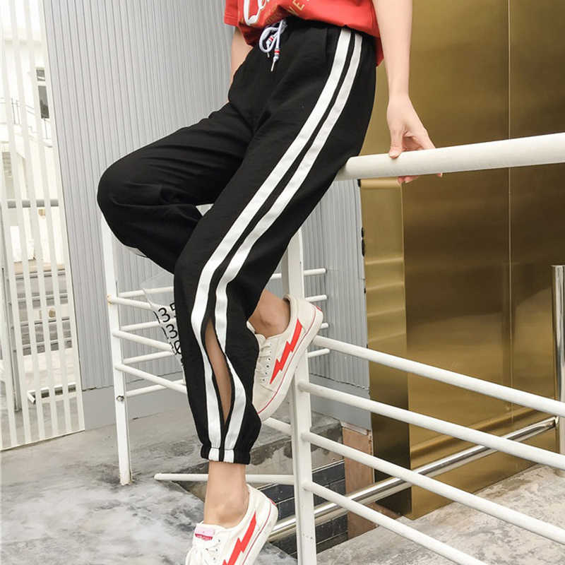 Sports Pants Spring Summer Women Loose Yoga Pants Sports Trousers Exercise Fitness Running Jogging  Loose Workout Sport Pants