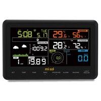 Беспроводной открытый индуктивности метеостанции подключение к Wi Fi загружать данные веб часы термометр внутреннего температуры и влажнос