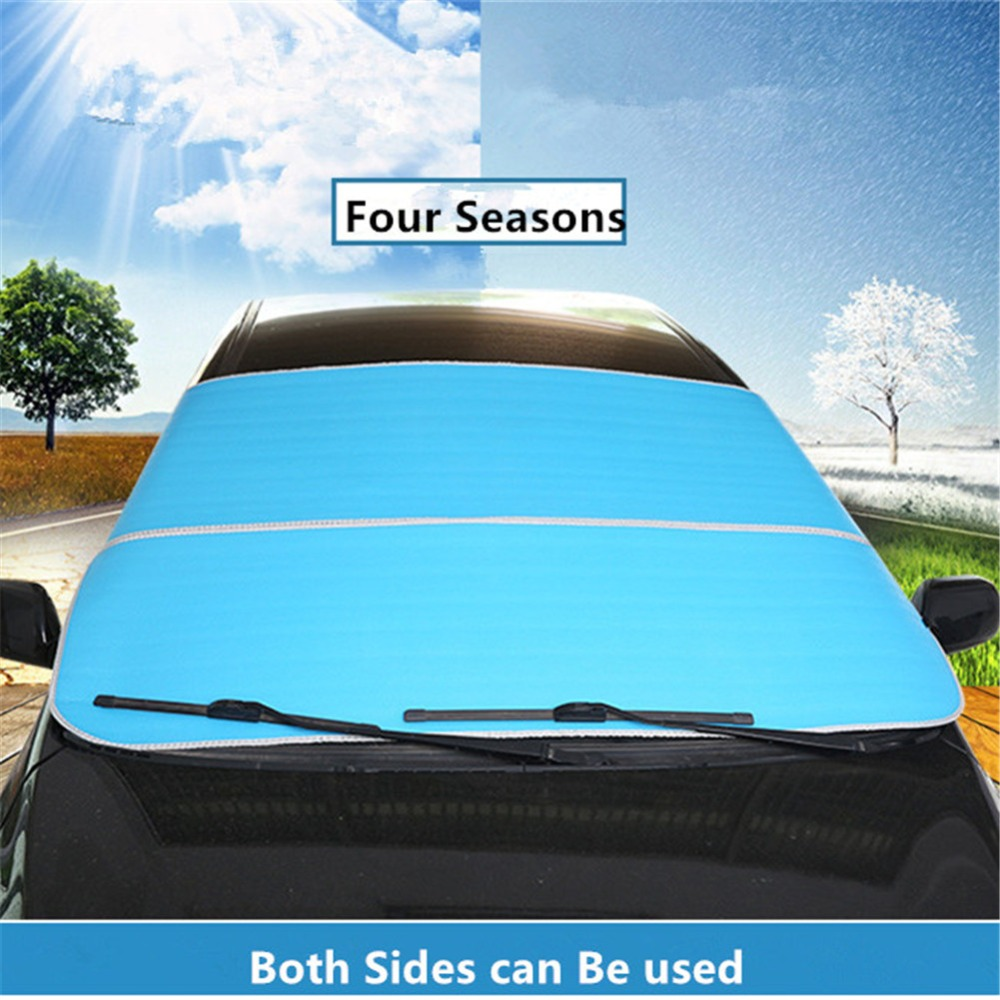 Windshield Snow Cover Frost Guard Car Sun Shade Snow Ice