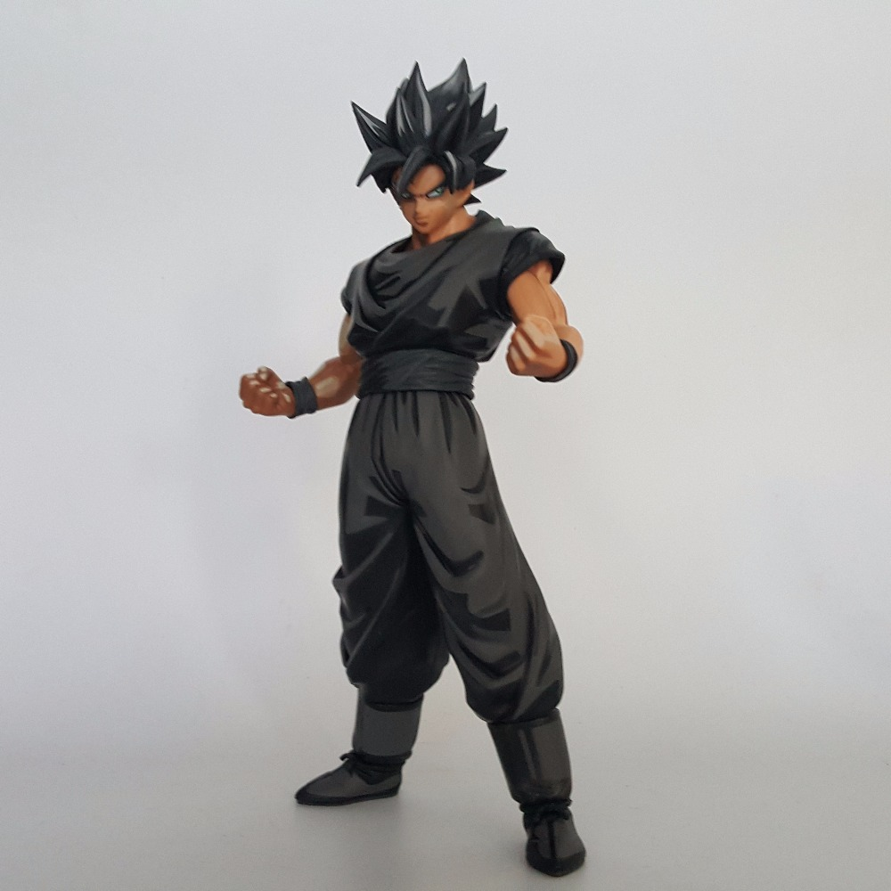 Dragon Ball Z MSP Black Goku Zamasu Super Saiyan PVC Action Figures 270mm Dragon Ball Z Anime Figures DBZ Toy anime dragon ball super saiyan 3 son gokou pvc action figure collectible model toy 18cm kt2841