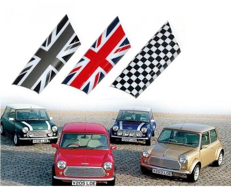 AMBERMILE 2PCS Union Jack Car Interior Door Armrest Cover Decoration Sticker for Mini Cooper Clubman R55 R56 R57 R58 Accessories (2)