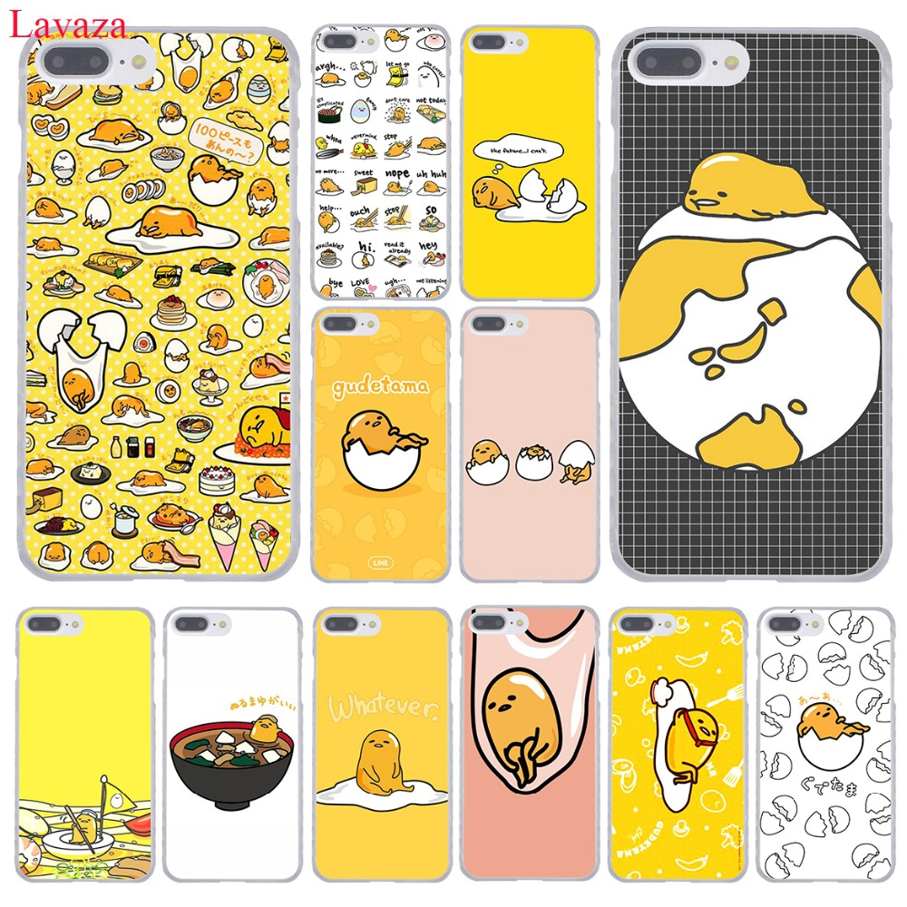 Lavaza cute lovely <font><b>gudetama</b></font> lazy egg Hard Coque Shell Phone <font><b>Case</b></font> for Apple <font><b>iPhone</b></font> 8 7 6 6S Plus X 10 5 5S SE 5C 4 4S Cover