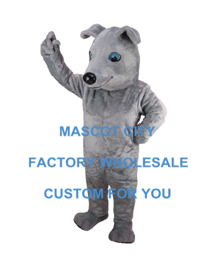 Best Price Greyhound Mascot Adult Size Cartoon Character Mascotte Outfit Suit Fancy Dress Carnival Party Cosply SW746