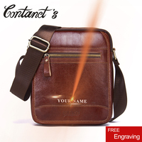 2018 Brand Design Casual Shoulder Bag For Men Crossbody Bags High Quality Cow Genuine Leather Messenger