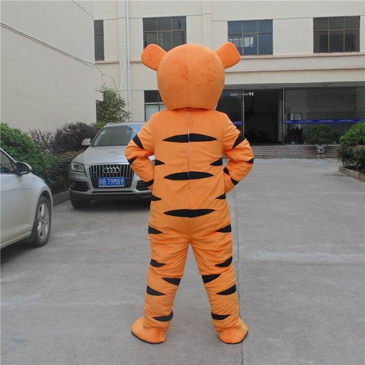 Costume de mascotte tigrou Costume de mascotte de bande dessinée personnage Costume de cosplay Costume de bande dessinée adulte taille jour de fête adulte - 4