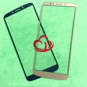 Image 1 - 10pcs/lot Replacement LCD Front Touch Screen Glass Outer Lens For Motorola E5 Plus Moto E Plus (5th Gen) XT1924