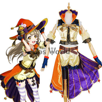 Love Live School Idol Project Minami Kotori Halloween Uniform Outfit Anime Customize Cosplay Costumes