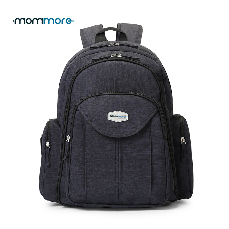 mommore baby nappy bag with changing pad baby diaper backpacks mummy diaper bags multifunctional. Black Bedroom Furniture Sets. Home Design Ideas