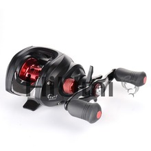 HiUmi 12+1 Ball Bearings Baitcasting Reel Fishing Fly High Speed Fishing Reel with Magnetic Brake System