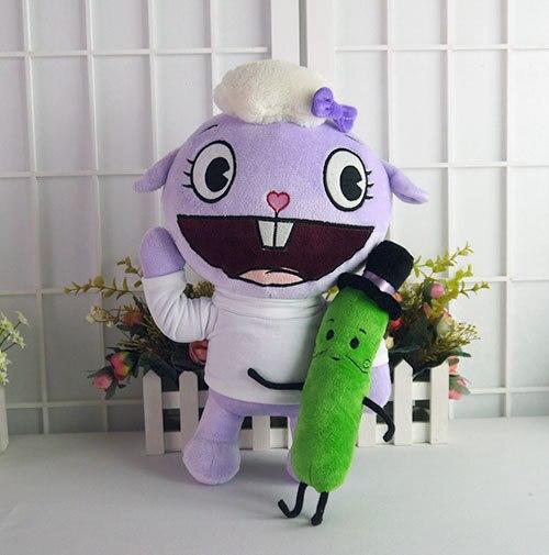 2 шт./компл. Счастливые Лесные Друзья плюшевые куклы Аниме HTF Lammy и г-н Pickels плюшевые игрушки мягкая подушка высокого качества подарок бесплатную доставку