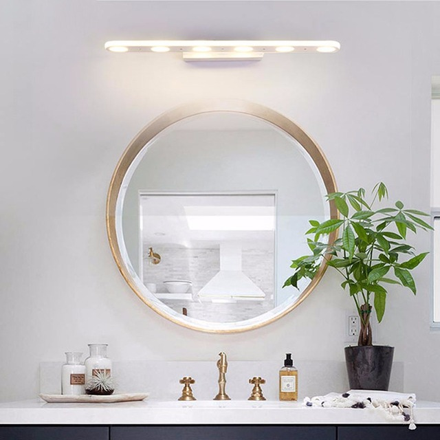 Nordic Modern Mirror Led Wall Lamps Kitchen Bathroom Sconce Led Lights For  Acrylic Home Decor Fixture