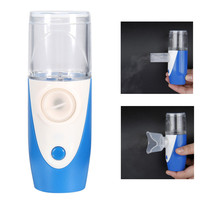 Portable Ultrasonic Beauty Nebulizer Respirator Handheld Moist Rechargeable Skin Care Humidifier Tool