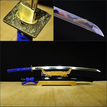 Free Sword Bag Battle Ready Full Tang Hand forged Handmade Sharp 1095 T10 Spring Steel Japanese