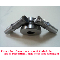 1 set Custom Design Mold / shaped punch for the Double punch tablet press machine Die size 12 25MM