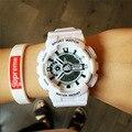 SANDA Новый Японии Movt Высокое Качество Ударопрочный Военная Резиновая Лента Часы Наручные Часы Наручные Часы для Мужчин Мужской Boy Девушки Женщин
