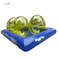 Inflatable Biggors Inflatable Water Swimming Pool With Bubble Ball For Playing