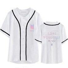 BTS (Bangtan Boys) Love Yourself Tear Baseball Jersey