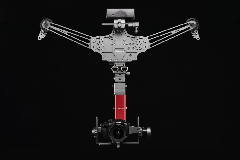 ASXMOV Flying Fox Cablecam System Utral Wide Angle Timelapse and Stable with APP/Wireless Controller System
