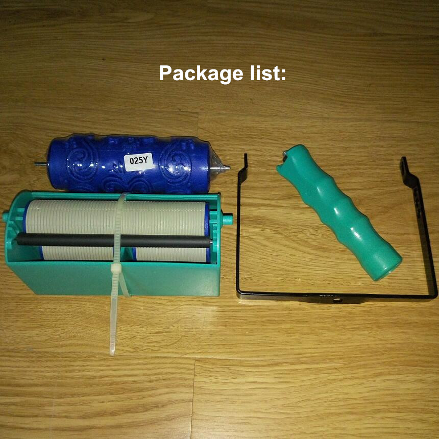 DIY wanddecoratiegereedschap - 5 inch handgreep applicator plus 5 - Gereedschapssets - Foto 4