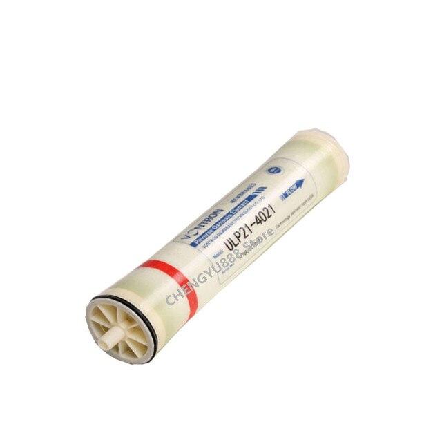 800 gpd הפוך אוסמוזה הפוכה מסנן אוסמוזה קרום ULP21 4021 מערכת ro מסנן קרום