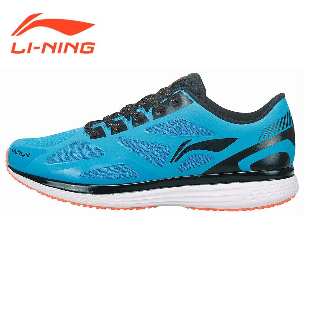 Li-Ning Brand Original Men's Running Sneakers Cushion Running Shoes Speed Star Series Light Blue Sports Wear ARHM001   LiNing цена 2017