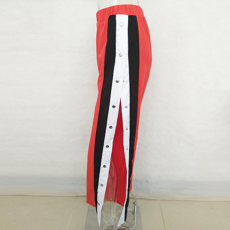 HTB1b44HSFXXXXXYXXXXq6xXFXXXM - Wide Leg Pants Side Split Women Pants High PTC 153
