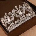 Vintage Luxury tiara Bridal Hair Accessories  Wedding Quinceanera tiaras Crowns Pageant crystal Rhinestone Crown
