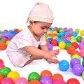 100 unids/lote Juguete Del Juego Del Bebé Piscina de Bolas Ecológico Suave Bebé Divertido Juguete Del Baño de Natación Niño Piscina de Bolas de Bolas De Plástico Para piscina