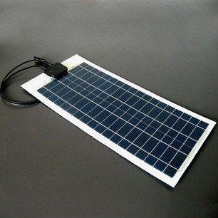 20W/18V flexible monocrystalline solar panel very slim solar panel for outdoor Diy,Car,Boat,charger