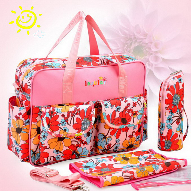 S016 Tote Nappy Bags Cross-body Multifunctional Mummy Bags Maternity Shoulder Diaper Bags