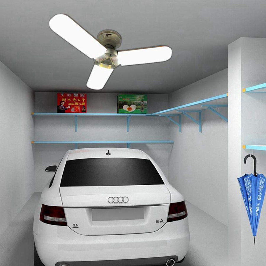 Us 12 82 26 offsuper bright e27 e26 b22 85 265v 45w deformable led garage ceiling lights led shop lights factory warehouse industrial lighting in
