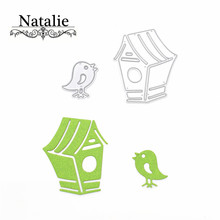 Cute Bird Cage Metal Cutting Dies For Scrapbooking Stencils DIY Album Cards Decoration Embossing Folder Die Cutter Template