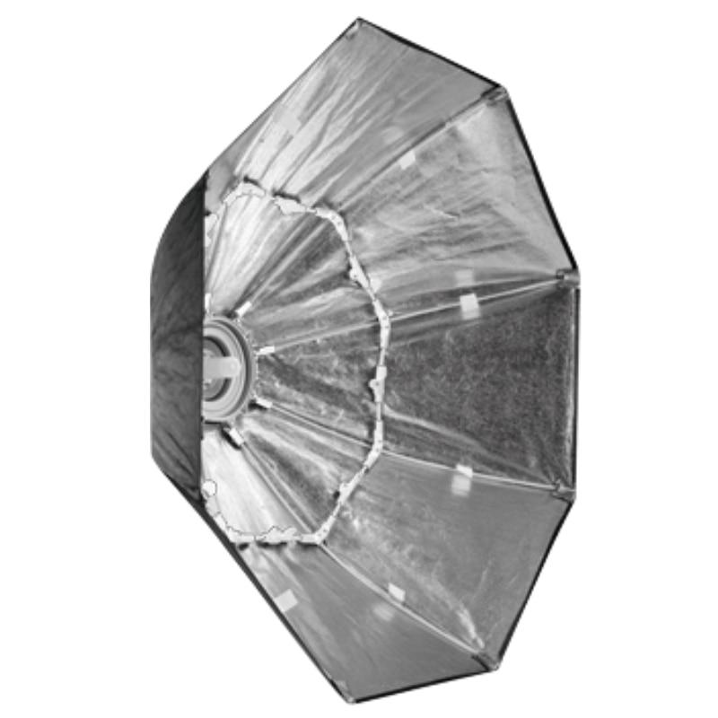 Falcon Eyes Portable Pliable Octagon Softbox 60/80/90/110 cm Parapluie Diffuseur Réflecteur pour Photo Studio 1 flash