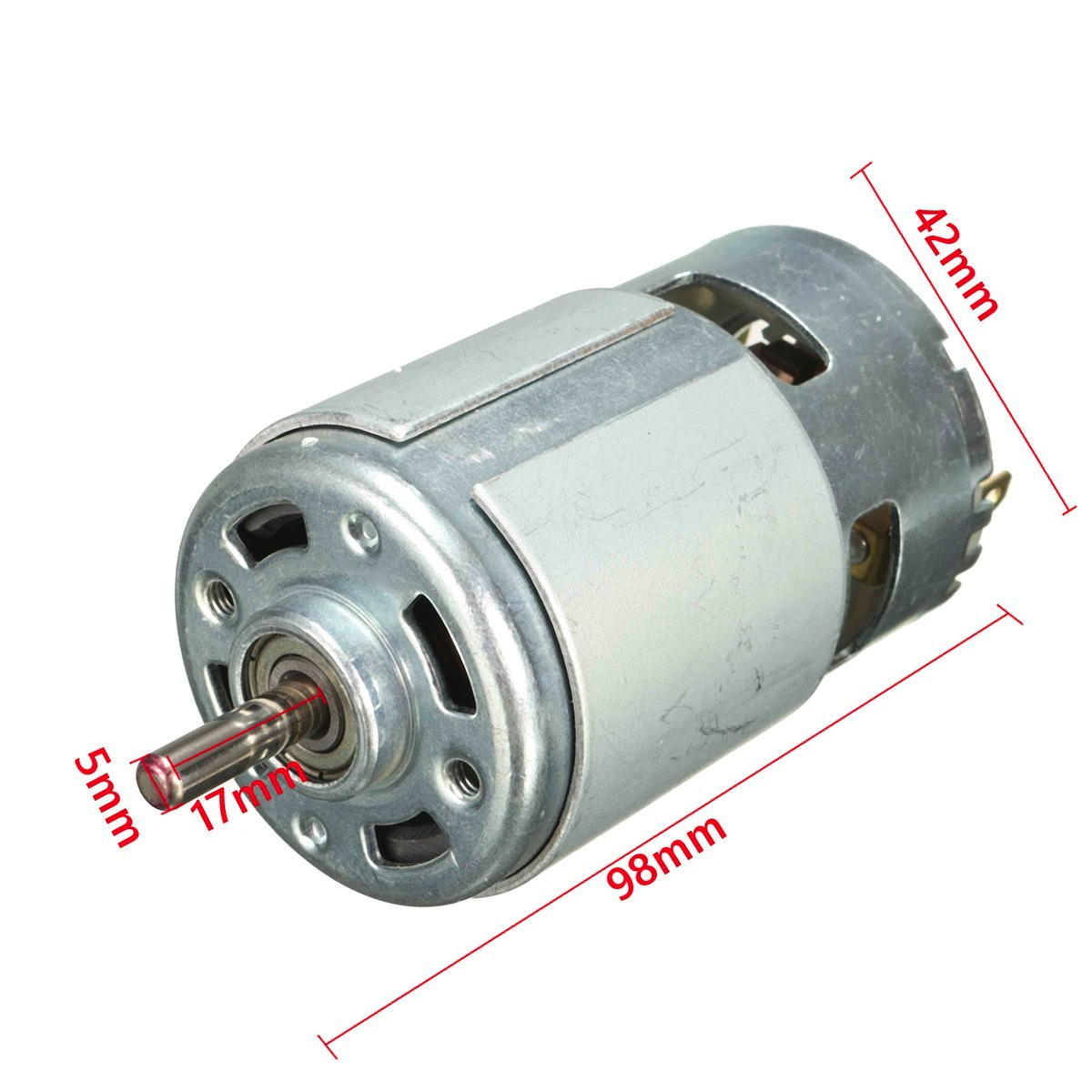 1Pcs 775 DC Motor 12V 13000~15000rpm High Speed Large Torque DC Motor Electric Tool Electric Machinery