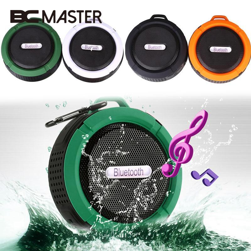 BCMaster Portable Mini Wireless Bluetooth Speaker Loudspeaker Subwoofer sound Waterproof Louds Music
