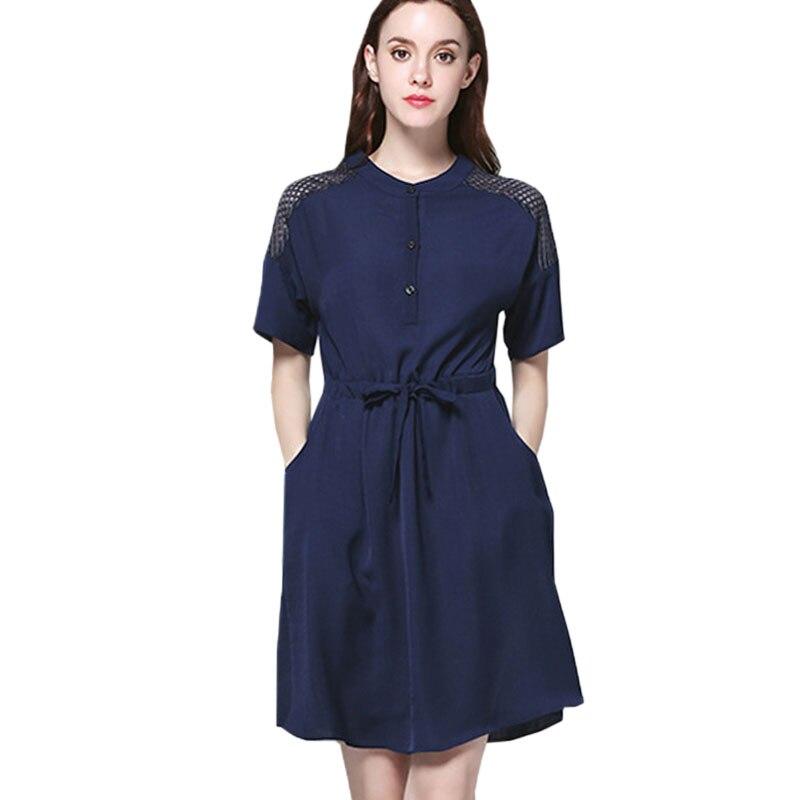 5XL Plus Size Short Sleeve Chiffon Dresses Summer New