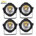 4 шт./лот Высокая мощность COB 100 Вт LED Par свет алюминий DMX Led Луч мыть стробоскопический эффект теплый и белый двойной цвет сценическое освещени...