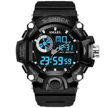 Watches Men Military Army Mens Watch Reloj Led Digital Sports Wristwatch Male Gift Analog S Shock Automatic Watch Male 1385
