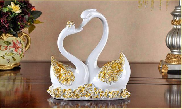 Lover Swan Furnishing Article Small Decorative Articles Wedding Gift Home Decor Craft Resin Craft Craft Resin Craft Decorationcraft Wedding Aliexpress