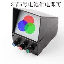 Три синтетические экспериментальные устройства для Junior High School Physics Experiment обучающий инструмент и оборудование