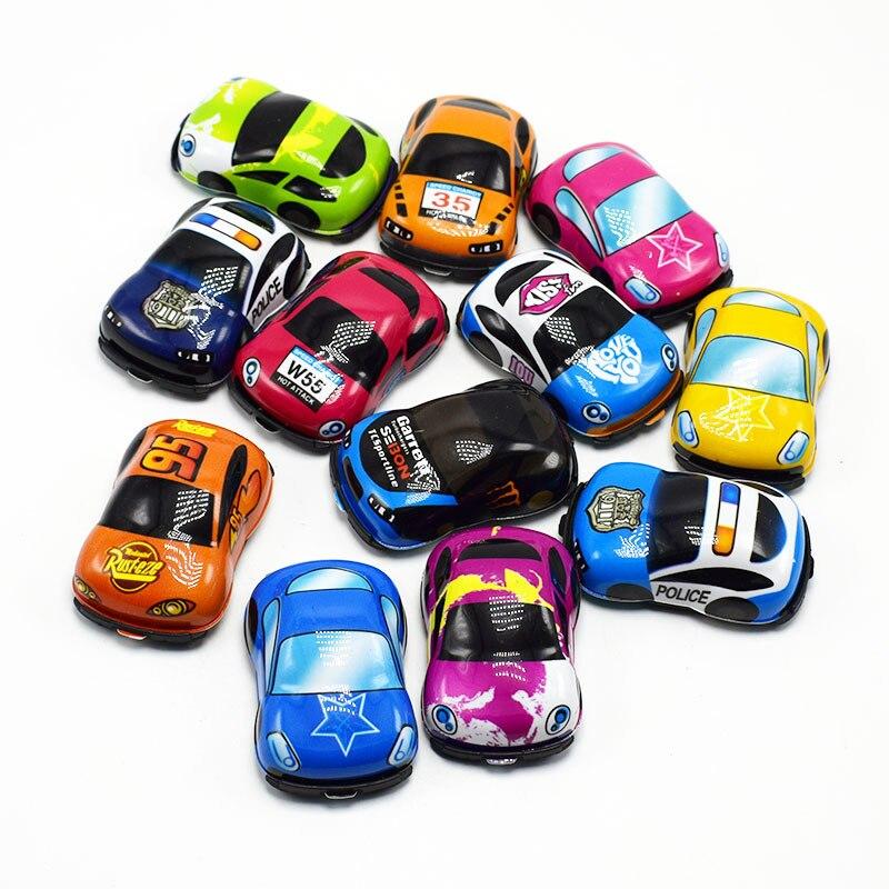 12PCS Pull Back Mini race Car Kids Birthday Party Favor girl Boy souvenir baby shower baptism gift Pinata Fillers